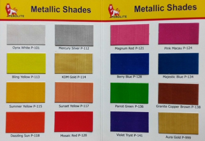 Metallic Shade Card 02